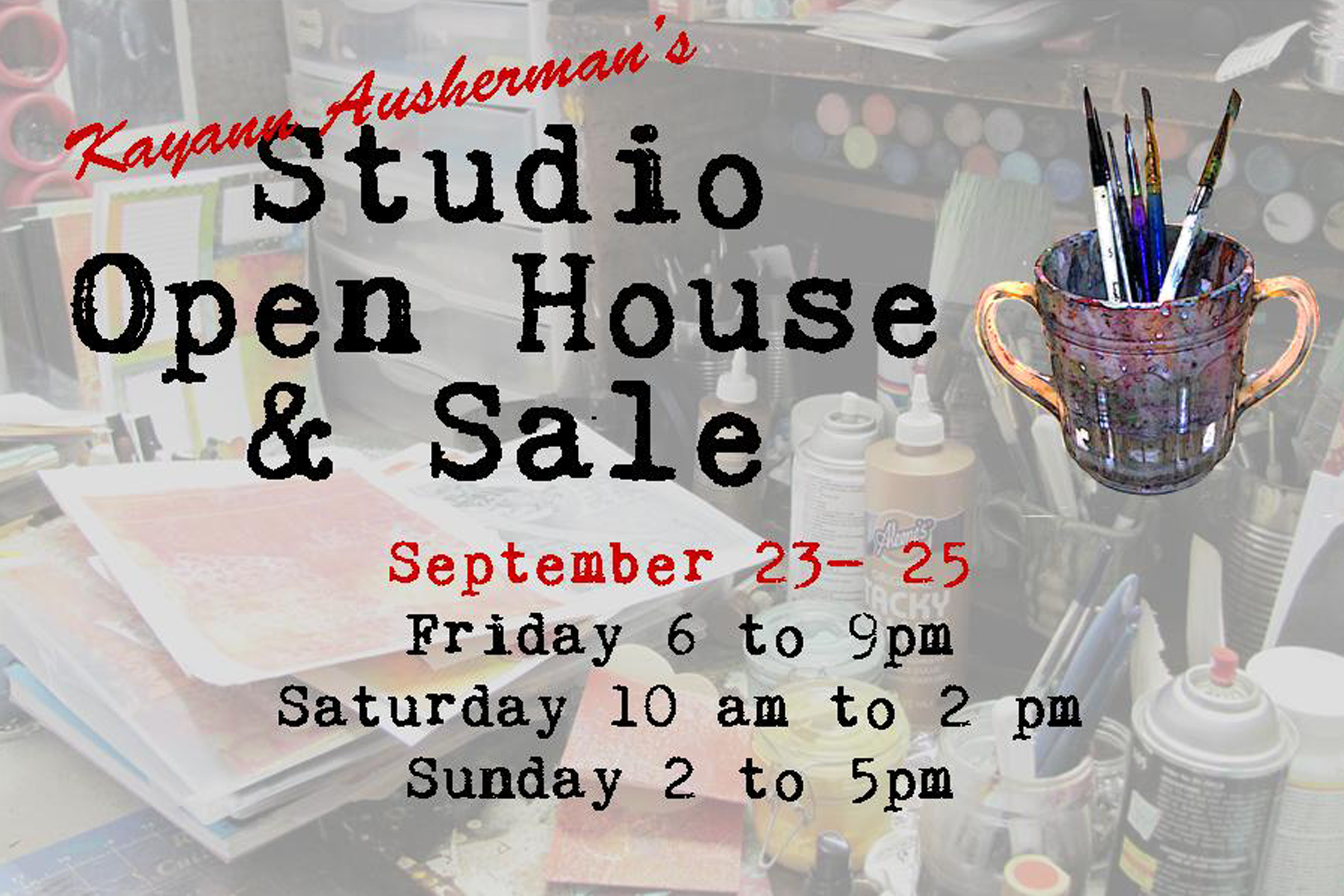 open house postcard 2016