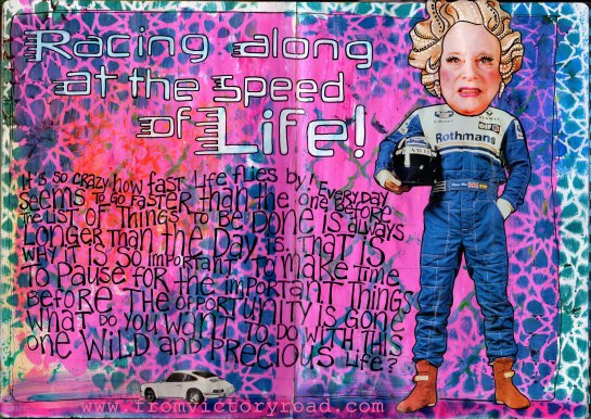 speed of life watermark