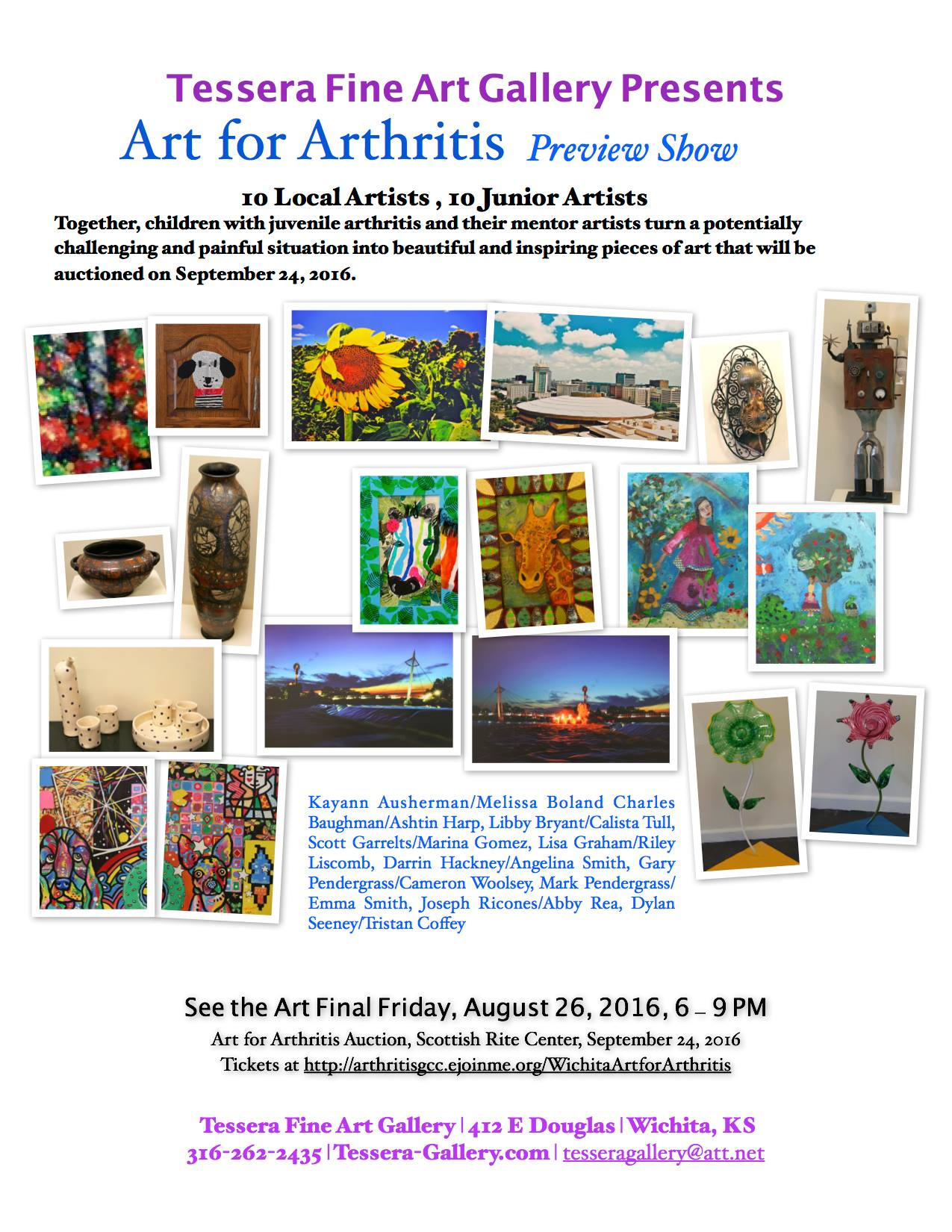 art for arthritis at tessera