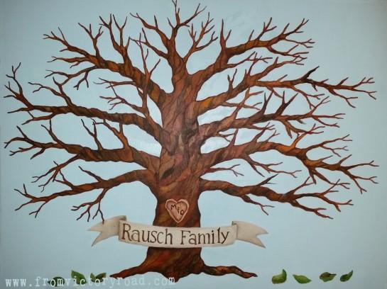 family tree watermark
