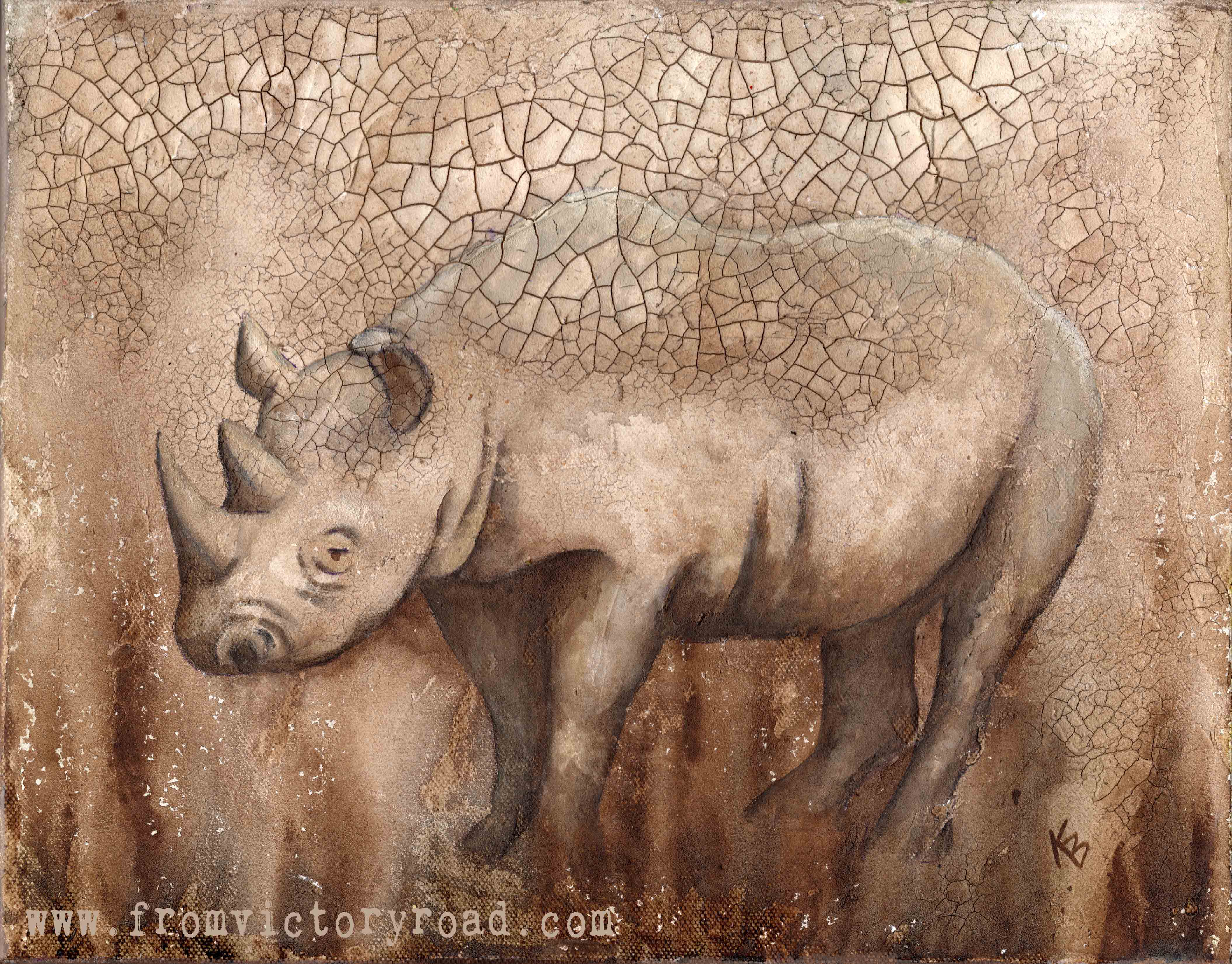 Rhino at the Mudhole wm.jpg
