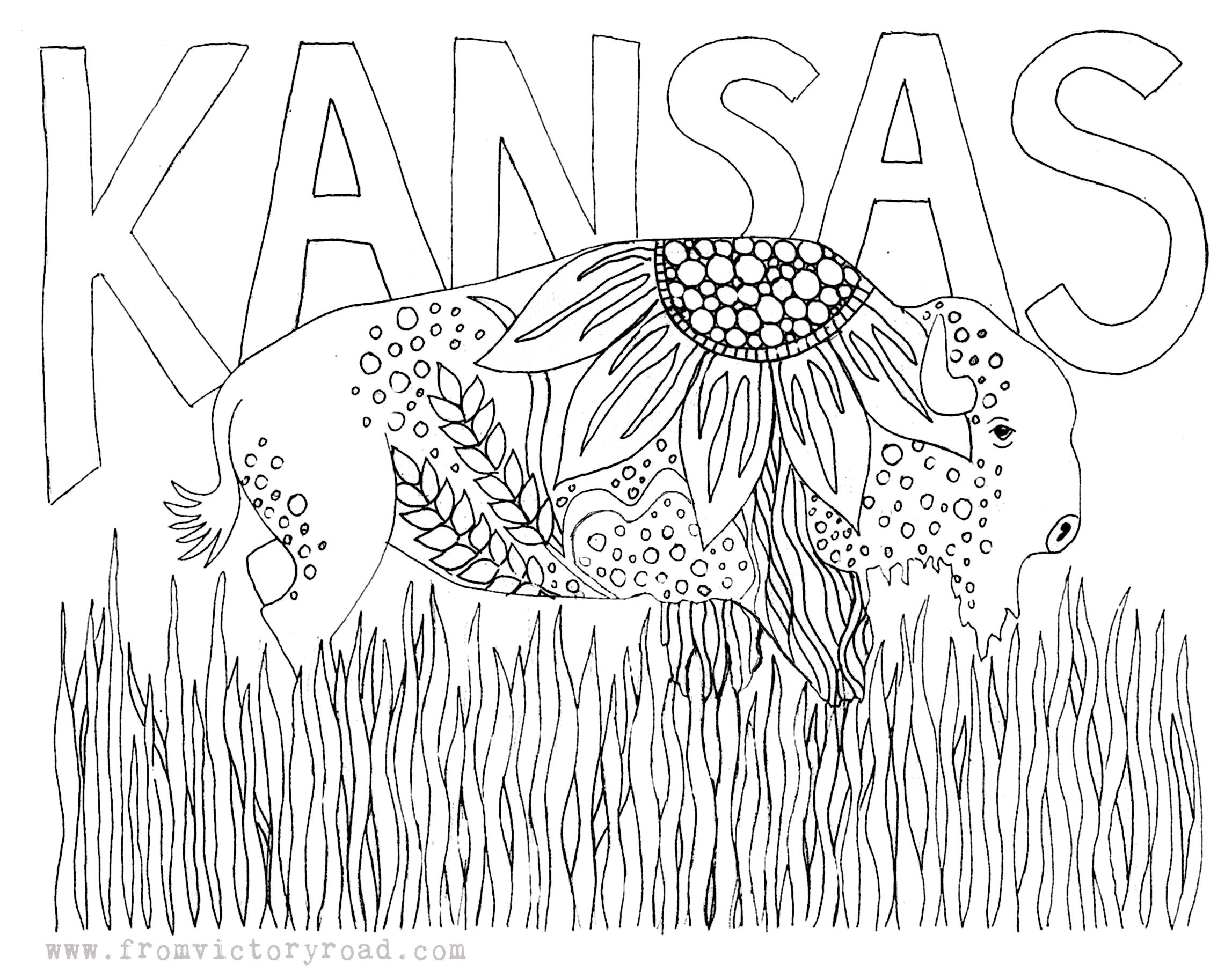 kansas-coloring-page
